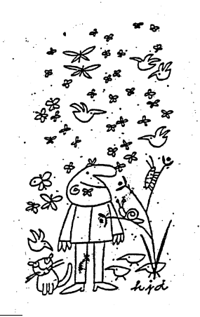 Birds & Bees Cartoon