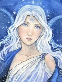Artemis, goddess of childbirth